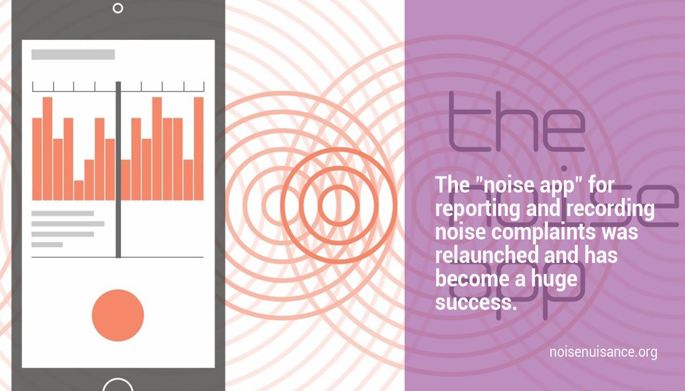 noise app - recording noise