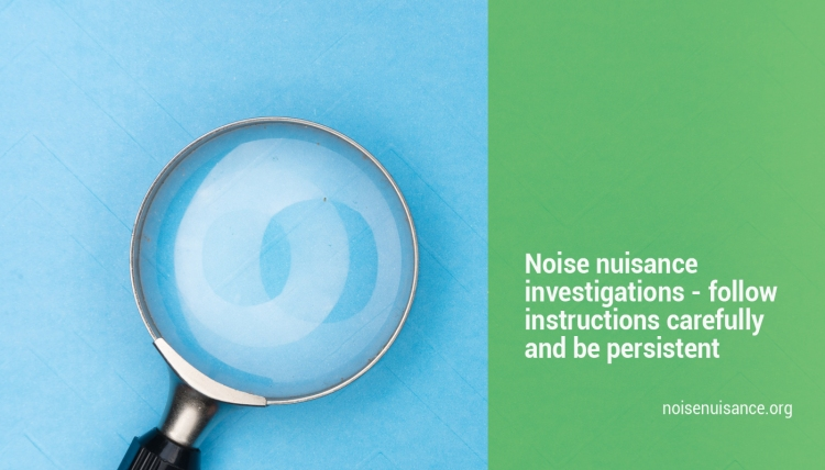 Tips for resolving noise issues.