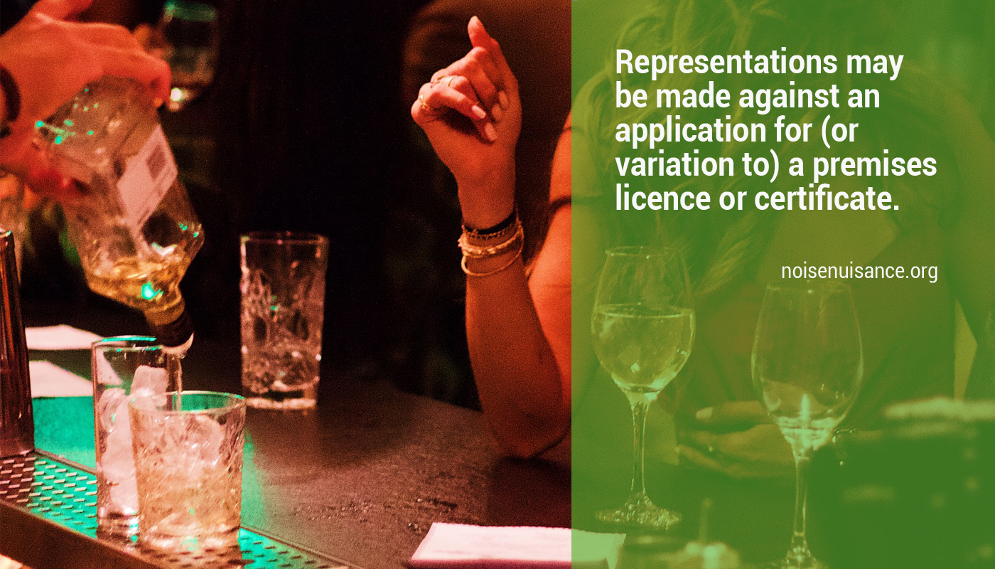 Review a premises licence